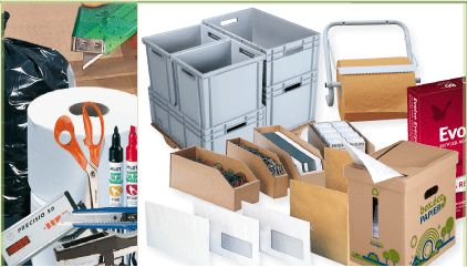 Cartons fournitures emballage